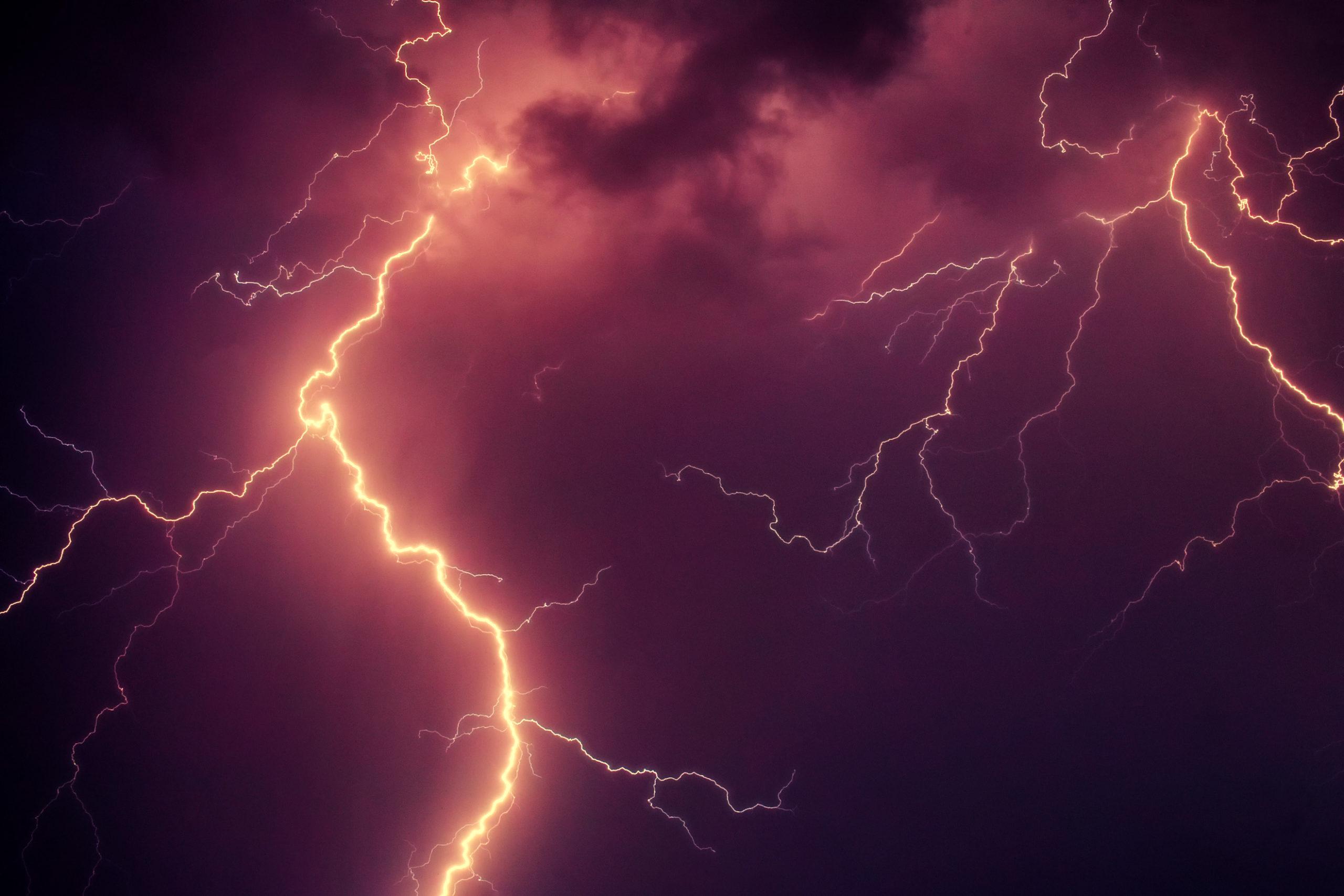 Onweer en bliksem