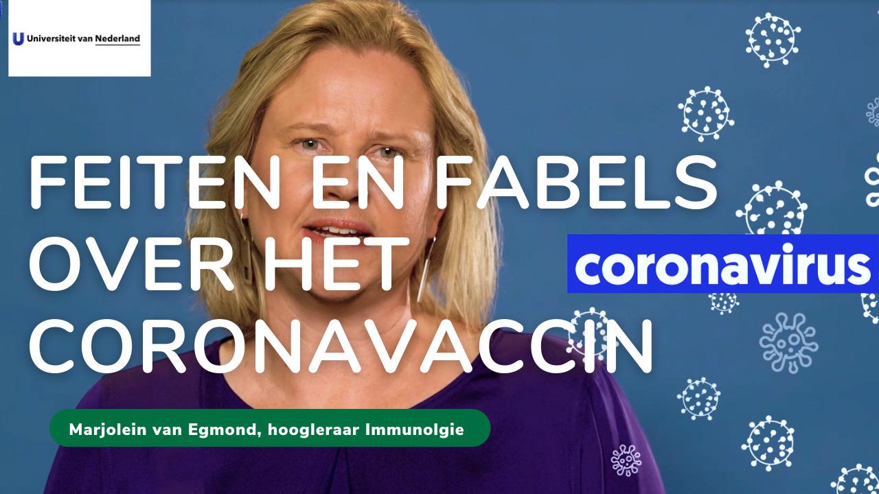 Link naar Youtube-video van Marjolein van Egmond, hoogleraar immunologie bij het Amsterdam UMC.